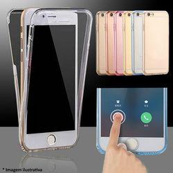 Capa para iPhone X e XS de Plástico 360 Graus