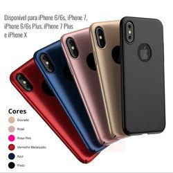 Capa para iPhone X e XS de Plástico Ultra Fina
