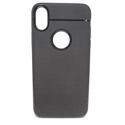 Capa para iPhone X e XS de TPU  - Preto Fosco