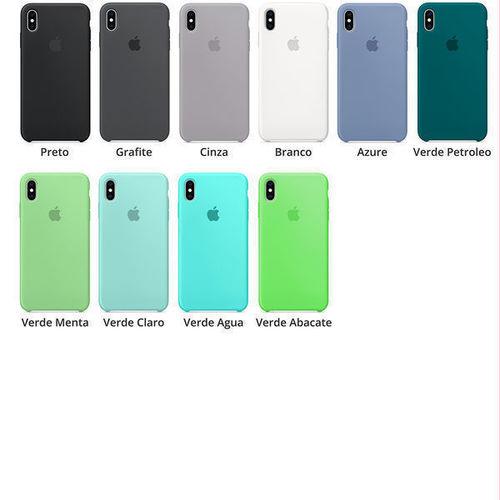 Capa para iPhone XS e X de Silicone - Promoção