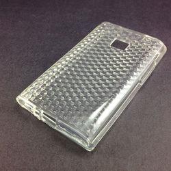 Capa para LG Optimus L3 E400 de TPU - Transparente