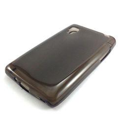 Capa para LG Optimus L4 II Dual E445 de TPU - Preto Transparente