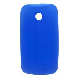 Capa para Moto E de TPU - Azul Escuro