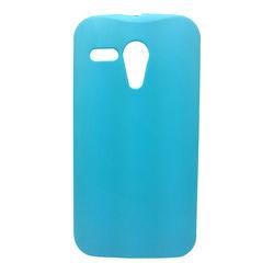 Capa para Moto G de TPU - Azul Claro