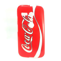 Capa para Moto G de TPU - Coca Cola