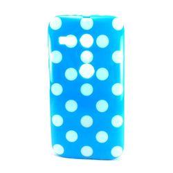 Capa para Moto G de TPU - Petit Poá Azul