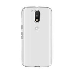 Capa para Moto G4 Play de TPU - Transparente
