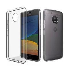 Capa para Moto G5 Plus de TPU - Transparente