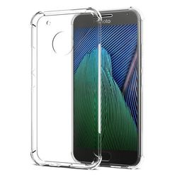 Capa para Moto G5S de TPU Anti Shock - Transparente