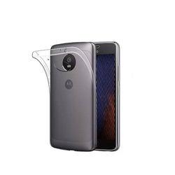 Capa para Moto G5S de TPU - Transparente