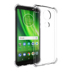 Capa para Moto G6 Play de TPU Anti Shock - Transparente