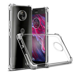 Capa para Moto G6 Plus de TPU Anti Shock - Transparente