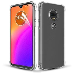 Capa para Moto G7 Play de TPU Anti Shock - Transparente