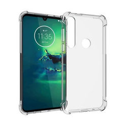 Capa para Moto G8 Plus de TPU Anti Shock - Transparente