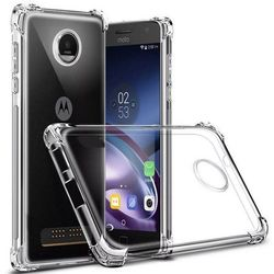 Capa para Moto Z3 Play de TPU Anti Shock - Transparente