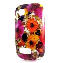 Capa para Nokia Asha 200 de TPU - Flores Coloridas