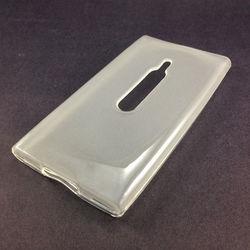 Capa para Nokia Lumia 800 de TPU - Transparente Fosco