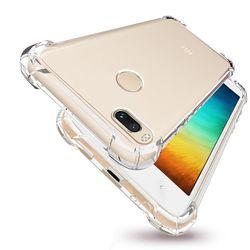 Capa para Xiaomi MI 8 Lite de TPU Anti Shock - Transparente