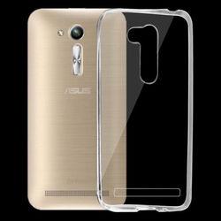 """Capa para ZenFone Go Mini 4,5"""" (ZB452KG) de TPU - Transparente"""