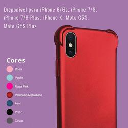 Capa para Moto G5S Plus de TPU Anti Shock - Colorida