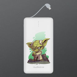 Carregador Portátil Power Bank 13.000mAh - Star Wars | Yoda