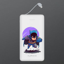 Carregador Portátil Power Bank 6.000mAh - Batman