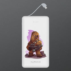Carregador Portátil Power Bank 6.000mAh - Star Wars | Chewbacca