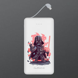 Carregador Portátil Power Bank 6.000mAh - Star Wars | Darth Vader