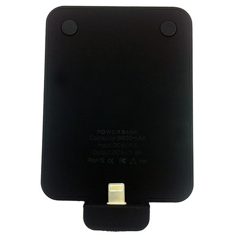 Carregador Portátil Power Bank para iPhone 8000mah - Preto