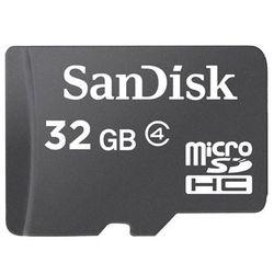 Cartão de Memória Micro SD 32GB da Sandisk com Adaptador SD