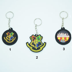 Chaveiro Emborrachado - Harry Potter
