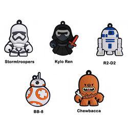 Chaveiro Emborrachado - Star Wars | Personagens