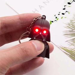 Chaveiro Star Wars com LED e Som | Darth Vader