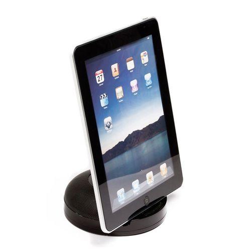 Dock Station para iPad e iPhone com Alto Falante da Leadership - Preto