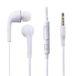 Fone de Ouvido com Microfone e Controle de Volume para Samsung - Branco