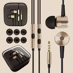 Fone de Ouvido Metalizado com Microfone - Cores Diversas