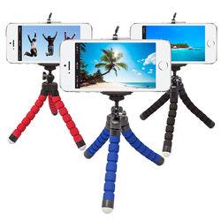 Mini Tripé Flexível para Smartphone, GoPro e Câmera - Diversas Cores