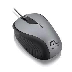 Mouse com fio Emborrachado USB - Multilaser