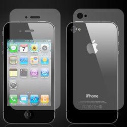 Película para iPhone 4 e 4S Frente e Verso - Transparente