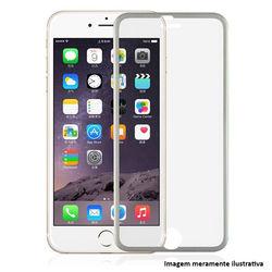 Película para iPhone 7 de Vidro Temperado com Borda - Prata