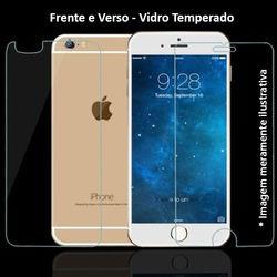 Película para iPhone 7 de Vidro Temperado - Frente e Verso | Transparente