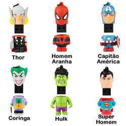 Pen Drive 8GB - Super Heróis | Personagens