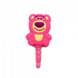 Plug Pingente para Proteção Contra Poeira 3,5mm - Ursinho Lotso Toy Story