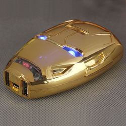 Power Bank Bateria Extra Portátil 8000mAh - Homem de Ferro | Cores