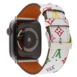 Pulseira Louis Vuitton Branca para Apple Watch