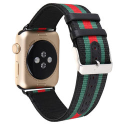Pulseira Nylon Listrada para Apple Watch