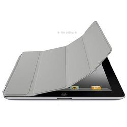 Smart Cover de Poliuretano para iPad Air 1 e Air 2 - Cinza