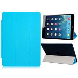 Smart Cover de Poliuretano para iPad Air e Air 2 - Azul