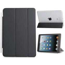 Smart Cover para iPad Mini 1, 2 e 3 de Poliuretano - Preta