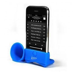 Suporte Acústico para iPhone Leadership - Azul